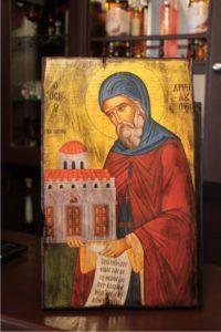 άγιος χριστόδουλος - παλαίωση εικόνας αγίου σε ξύλο - aged religious icons on wood - handicraftcyprus.com - όλα τα είδη χειροτεχνημάτων του εργαστηρίου μας. χειροποίητα δώρα, τάβλια με σκάλισμα και πυρογραφία, σκάκια σκαλιστά, ξύλινα ρολόγια με σκάλισμα, παιδικά κρεμμασταράκια με παιδικούς ήρωες, ξύλινες φιγούρες και σχήματα, σχέδιο με πυρογράφο σε νεροκολοκύθες, μπομπονιέρες βάφτισης, μπομπονιέρες γάμου γάμων, επιχειρηματικά δώρα, ξεχωριστά δώρα επιχειρήσεων, παλαίωση φωτογραφίας, μπαούλα σκαλιστά, κρεμμασταράκια τοίχου για κλειδιά, κρεμμαστάρια ρούχων σκαλιστά, σκαλιστές κορνίζες, χειροποίητοι καθρέφτες με σκάλισμα, εικόνες αγίων με σκάλισμα, παλαιωμένες εικόνες αγίων, διακοσμητικά είδη χειροποίητα, αξεσουάρ γραφείου, σχέδια σε ξύλο, ξυλογλυπτική, παλαίωση εικόνων, αγιογραφίες, πυρογραφία, χαλκογραφία, κορνίζες, καθρέφτες, χειροποίητα, βάφτιση, γάμος, επέτειος, Πάφος, Λευκωσία, Λεμεσός, Λάρνακα.