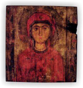 αγία μαρίνα - παλαίωση εικόνας αγίου σε ξύλο - aged religious icons on wood - handicraftcyprus.com - όλα τα είδη χειροτεχνημάτων του εργαστηρίου μας. χειροποίητα δώρα, τάβλια με σκάλισμα και πυρογραφία, σκάκια σκαλιστά, ξύλινα ρολόγια με σκάλισμα, παιδικά κρεμμασταράκια με παιδικούς ήρωες, ξύλινες φιγούρες και σχήματα, σχέδιο με πυρογράφο σε νεροκολοκύθες, μπομπονιέρες βάφτισης, μπομπονιέρες γάμου γάμων, επιχειρηματικά δώρα, ξεχωριστά δώρα επιχειρήσεων, παλαίωση φωτογραφίας, μπαούλα σκαλιστά, κρεμμασταράκια τοίχου για κλειδιά, κρεμμαστάρια ρούχων σκαλιστά, σκαλιστές κορνίζες, χειροποίητοι καθρέφτες με σκάλισμα, εικόνες αγίων με σκάλισμα, παλαιωμένες εικόνες αγίων, διακοσμητικά είδη χειροποίητα, αξεσουάρ γραφείου, σχέδια σε ξύλο, ξυλογλυπτική, παλαίωση εικόνων, αγιογραφίες, πυρογραφία, χαλκογραφία, κορνίζες, καθρέφτες, χειροποίητα, βάφτιση, γάμος, επέτειος, Πάφος, Λευκωσία, Λεμεσός, Λάρνακα.