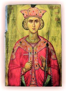 αγία αικατερίνη - παλαίωση εικόνας αγίου σε ξύλο - aged religious icons on wood - handicraftcyprus.com - όλα τα είδη χειροτεχνημάτων του εργαστηρίου μας. χειροποίητα δώρα, τάβλια με σκάλισμα και πυρογραφία, σκάκια σκαλιστά, ξύλινα ρολόγια με σκάλισμα, παιδικά κρεμμασταράκια με παιδικούς ήρωες, ξύλινες φιγούρες και σχήματα, σχέδιο με πυρογράφο σε νεροκολοκύθες, μπομπονιέρες βάφτισης, μπομπονιέρες γάμου γάμων, επιχειρηματικά δώρα, ξεχωριστά δώρα επιχειρήσεων, παλαίωση φωτογραφίας, μπαούλα σκαλιστά, κρεμμασταράκια τοίχου για κλειδιά, κρεμμαστάρια ρούχων σκαλιστά, σκαλιστές κορνίζες, χειροποίητοι καθρέφτες με σκάλισμα, εικόνες αγίων με σκάλισμα, παλαιωμένες εικόνες αγίων, διακοσμητικά είδη χειροποίητα, αξεσουάρ γραφείου, σχέδια σε ξύλο, ξυλογλυπτική, παλαίωση εικόνων, αγιογραφίες, πυρογραφία, χαλκογραφία, κορνίζες, καθρέφτες, χειροποίητα, βάφτιση, γάμος, επέτειος, Πάφος, Λευκωσία, Λεμεσός, Λάρνακα.
