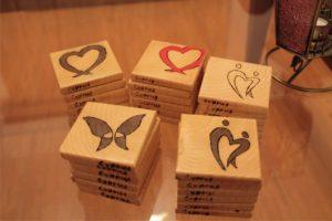 χειροποίητα σουβέρ με πυρογραφία - handmade coasters with pyrography - handicraftcyprus.com - όλα τα είδη χειροτεχνημάτων του εργαστηρίου μας. χειροποίητα δώρα, τάβλια με σκάλισμα και πυρογραφία, σκάκια σκαλιστά, ξύλινα ρολόγια με σκάλισμα, παιδικά κρεμμασταράκια με παιδικούς ήρωες, ξύλινες φιγούρες και σχήματα, σχέδιο με πυρογράφο σε νεροκολοκύθες, μπομπονιέρες βάφτισης, μπομπονιέρες γάμου γάμων, επιχειρηματικά δώρα, ξεχωριστά δώρα επιχειρήσεων, παλαίωση φωτογραφίας, μπαούλα σκαλιστά, κρεμμασταράκια τοίχου για κλειδιά, κρεμμαστάρια ρούχων σκαλιστά, σκαλιστές κορνίζες, χειροποίητοι καθρέφτες με σκάλισμα, εικόνες αγίων με σκάλισμα, παλαιωμένες εικόνες αγίων, διακοσμητικά είδη χειροποίητα, αξεσουάρ γραφείου, σχέδια σε ξύλο, ξυλογλυπτική, παλαίωση εικόνων, αγιογραφίες, πυρογραφία, χαλκογραφία, κορνίζες, καθρέφτες, χειροποίητα, βάφτιση, γάμος, επέτειος, Πάφος, Λευκωσία, Λεμεσός, Λάρνακα.